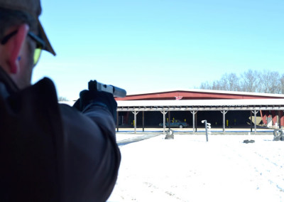 Winter suppressed weapons shooting event